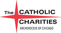 Catholic Charities Archdiocese of Chicago logo.